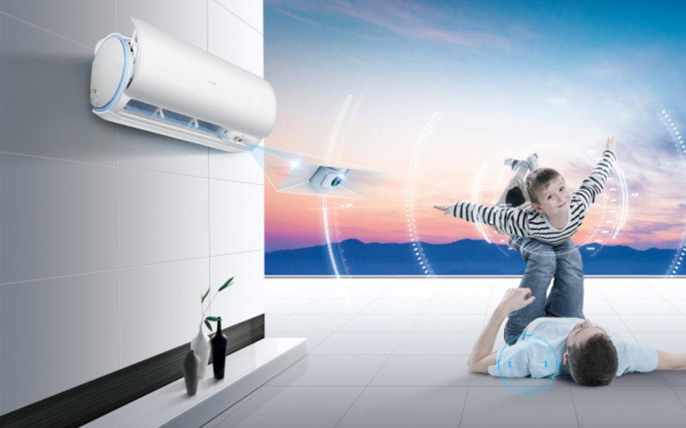 Klimatizace s inteligentními senzory